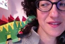 LIBRI e progetti papercraft / Componi costruisci e impara l'inglese con gli animali!!By irene mazza