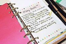 Daily planner / Filofaxlove❤️