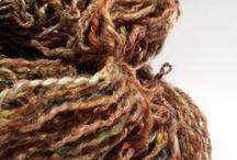 Our Handspun World / #handspun #yarn #knitting #crochet #inspiration #fiber art ...everything around Lanivendoles' works with fibers!