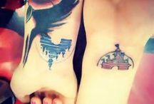 Princess tattoos / Cool tattos but I don't want to have them on my body.