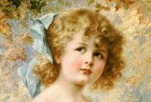 ЭМИЛЬ ВЕРНОН 1872-1820 / Европейская портретная живопись