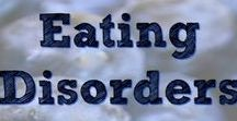 Eating Disorders / Eating disorders are a group of serious conditions in which you're so preoccupied with food and weight that you can often focus on little else. The main types of eating disorders are anorexia nervosa, bulimia nervosa and binge-eating disorder. I also pin about the many other forms of eating disorders.