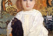 Children in Painting / Children paintings  / by Interiors With History