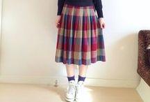 Tartan Skirt/Dress Outfits / Tartan(タータン/チェック柄)