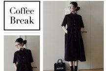 Black Dress Outfits / 着回し力抜群!マンネリにならない「黒ワンピース」のコーデ♡