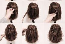 Half-Up  Hair Tutorials / ハーフアップ 作り方