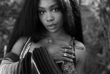 p || sza / solána imani rowe • an american singer and songwriter; feminist