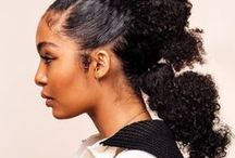 Hairstyle How-Tos / This is a board about step-by-step natural hair tutorials, natural hairstyles, protective styles, bantu knot-outs, twist outs and wash and go hairstyles.
