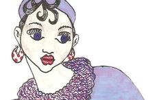Mis dibujos: cara o cruz / by Amparo Ramis