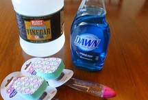 DIY Cleaning / How to make your own cleaning products, how to clean your home better, etc. / by Emily Mitchell