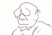 Mis dibujos: hombres / by Amparo Ramis