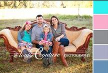 Coordinating clothing for Family Photos / by Louise Couture Photography