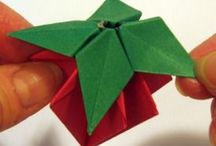 ORIGAMI / Folding, folding, folding. Many cool objects made from paper by folding.