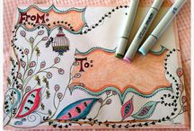 ENVELOPE ART / It's so much fun to make your own envelopes. This board has lots of great ideas.