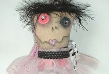 OH YOU HOMELY DOLL / Dolls that only their mother could love. Very ugly, scroungy, misshapen dollies.