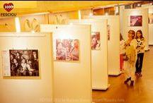 Exposiciones / Exposiciones fotográficas 'Luchando por la dignidad' y 'Cine y discapacidad'. Fecha: del 29 de septiembre al 3 de octubre de 2015.