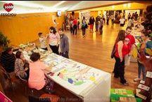 Hall Solidario / Hall Solidario del XIII Festival de Cine Solidario de Guadalajara. Fecha: del 29 de septiembre al 3 de octubre de 2015. Fotos: Mariam Useros Barrero/Mausba Foto, Paula M. Langa/InnovArt