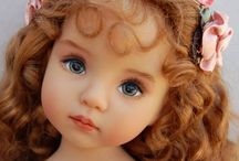 DOLLS: DIANA EFFNER / Absolutely gorgeous dolls. Very spendy. Even their clothing is dear.