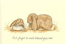 ILL: ANITA JERAM / Just sweet little illustrations from children's books.