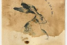 ILL: JILLY HENDERSEN / Funny rabbits. Great sayings.