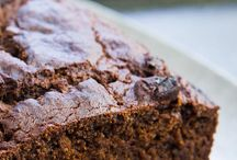 Brownies, muffins and sweet bread