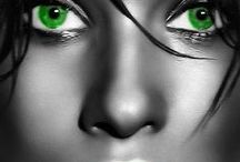 Green Eyes / by Dayle McEwen