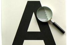 Qué tipos mas guapas / letras, fuentes y tipografía / by Matanga + taller