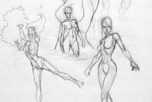 draw pose