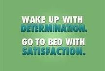 Motivation / Sometimes it just takes the right words of encouragement!