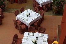 Cerimonie / In Fattoria è possibile organizzare piccoli eventi, godendo dell'atmosfera intima e suggestiva del luogo