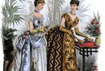 1880s Fashion / Fashion plates, dresses, accessories, bonnets... everything from the 1880s fashion