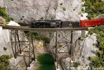 Trains in Miniature / Model Railroading  / by Mel Diablo