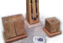 Displays / Handbuilt bespoke wood displays for shops, adverts and photoshots..