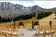 Key To The Rockies Weddings, Keystone, Colorado / Let us help plan your mountain wedding at Arapahoe Basin, Keystone or Silverthorne Pavilion, Colorado.  / by Key To The Rockies Vacation Rentals