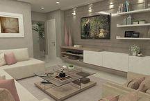 Casa: Sala de estar - Living room