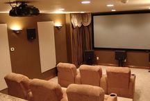 Casa: Sala de cinema - Home teather