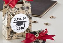FSJ Congratulations / Congratulations cards for graduation, retirement, new babies and more | handmade cards to celebrate milestones with Fun Stampers Journey stamps, dies, paper, and ink