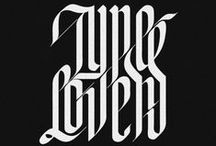 type & calligraphy
