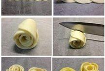 dolce o Salato / pasta sfoglia decorata