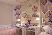 Casa: Quarto de irmãs - Sisters rooms