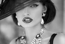 Classy / A women with class is timeless.