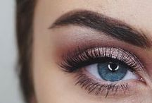 Eyes + Brows / Eye and brow makeup looks.