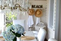 My Vintage Beach House / Finally can start decorating our new beach house on Hatteras Island.  My long time dream is finally here!  My palette will be a combination of dreamy whites with a splash of sea glass.   / by Dee Duncan Folk Art