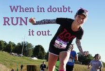 #MotivationMonday / Inspirational quotes accompanied by images of previous Fox Cities Marathon runners.