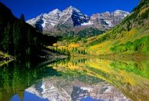 """Majestic Colorado / I fell in love with Colorado the very first time I ever saw the majestic mountain peaks. I felt at """"home in a place I'd never been before."""" I made my home in the Colorado Rockies many, many years ago. I never tire of its beauty."""