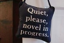 Novel Gift Ideas for Writers / These are some cool items I'd like to have or to give to writer friends. #writer #gifts #novel