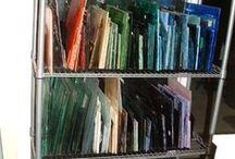 Getting Organized / by Uroboros Glass