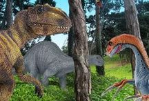 Dino-might / You won't find any fossils here. With a little imagination, your dinosaur comes to life.