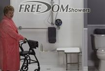 Freedom Showers / Freedom Accessible and ADA showers are a beautifully addition to any home. They ship directly from the factory and offer safety and durability.