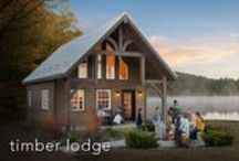 Timber Lodge / The Timber Lodge is the perfect home away from home loaded with everything you need to relax in comfort and style.